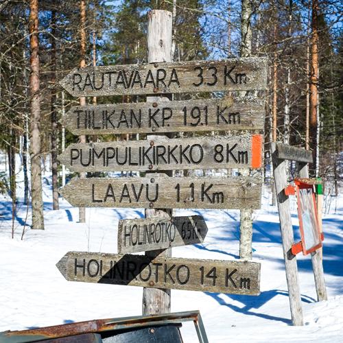 Hostellijärjestön järjestöreissaajat Metsäkartanolla Rautavaaralla