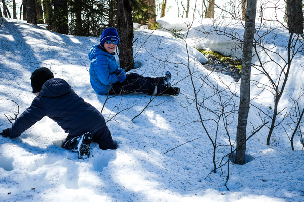 Järjestöreissaajat Metsäkartanolla Rautavaaralla