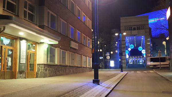 Hostellijärjestön järjestöreissaaja Tiina Tampereella ja Dream Hostel&Hotelissa.