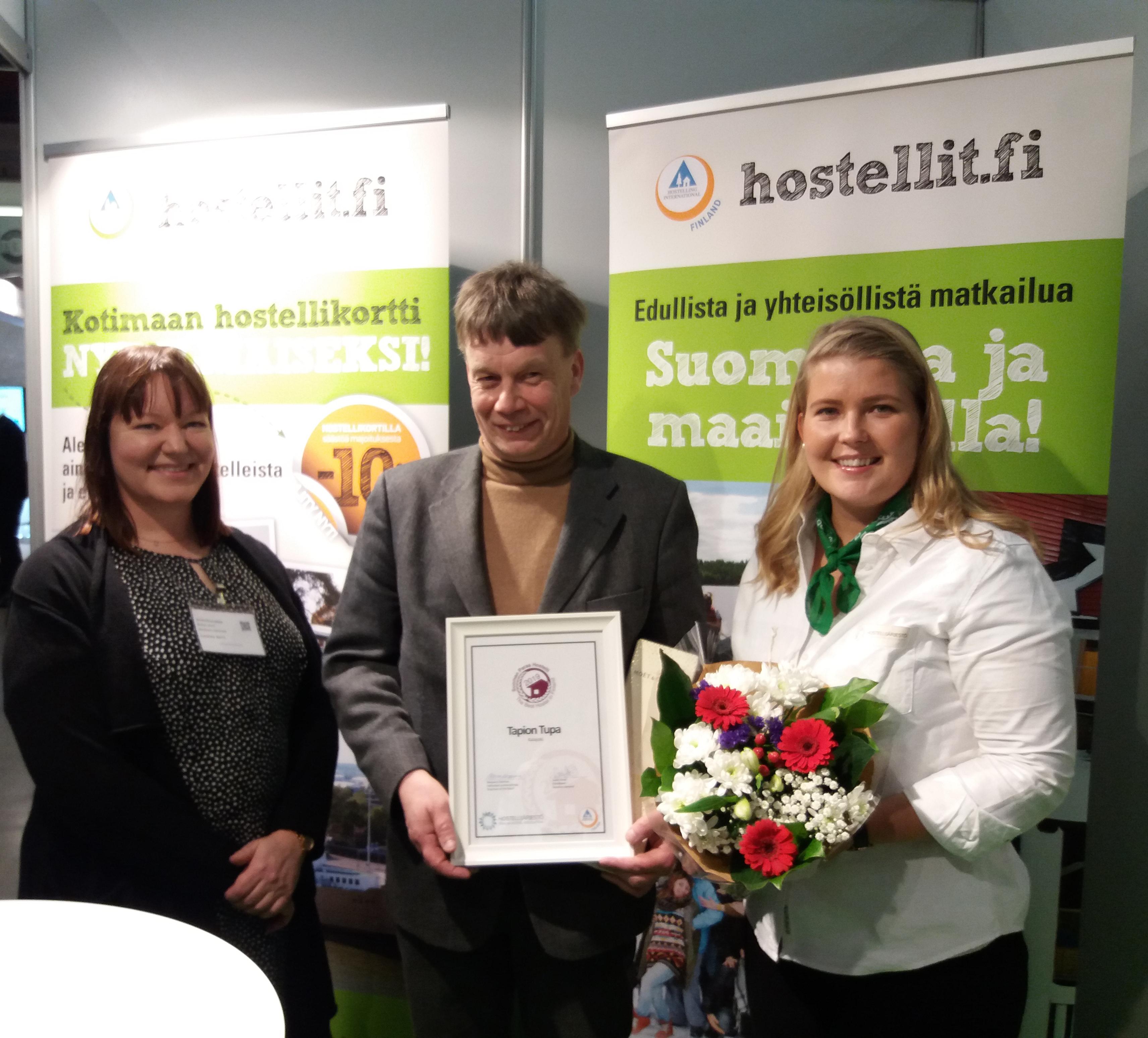 Tapion Tupa on Suomen Paras Hostelli 2019