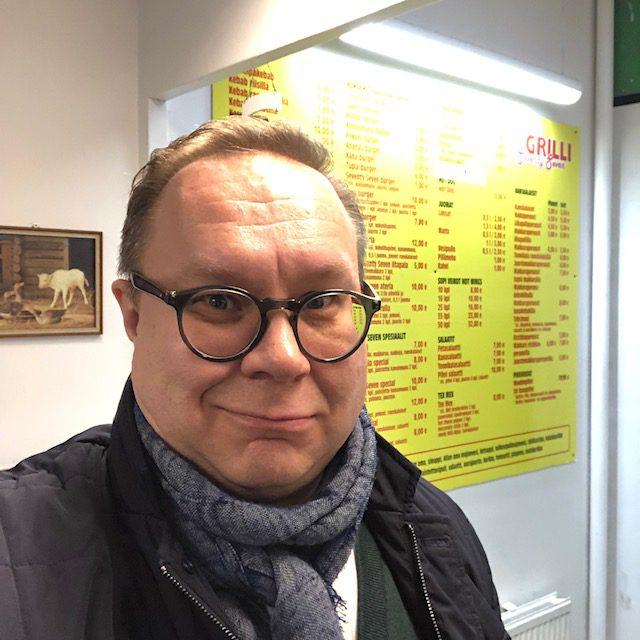 Hostellijärjestön järjestöreissaaja Juha Aaltonen