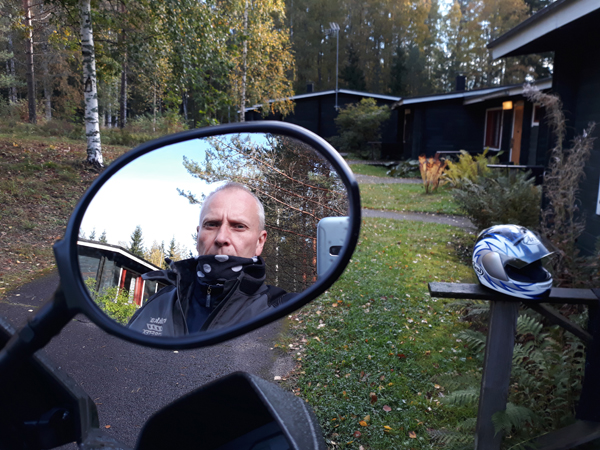 Moottoripyöräreissu, Martti Nurmi