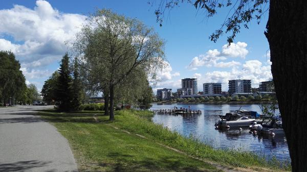 Finnhostel Joensuu, Pielisjoki
