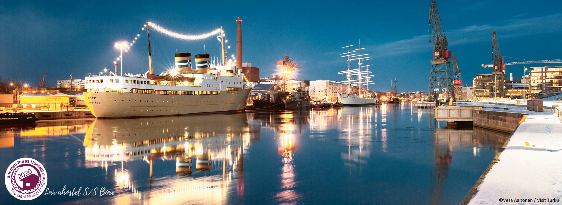 Laivahostel S/S Bore on Suomen Paras Hostelli 2020
