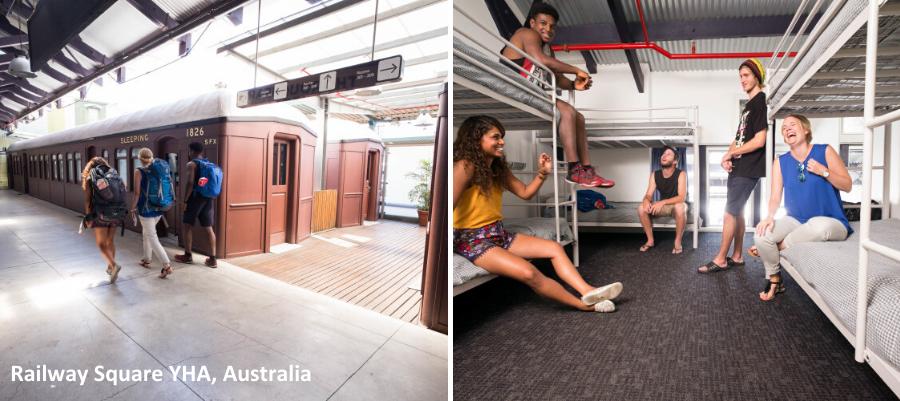 Mielenkiintoisimmat hostellit, huonekuva Railway Square YHA, Australia