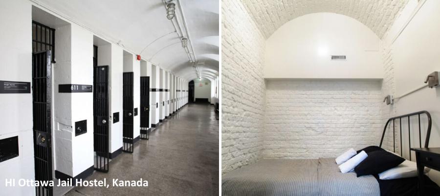 Huonekuva HI Ottawa Jail Hostel, Kanada