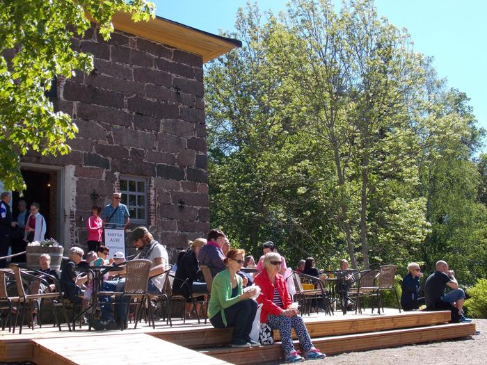 Nuorisokeskus Anjalan kesäkahvila, Kouvola