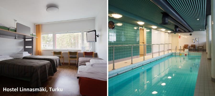Hostel Linnasmäki, Turku, Tekemistä Turussa