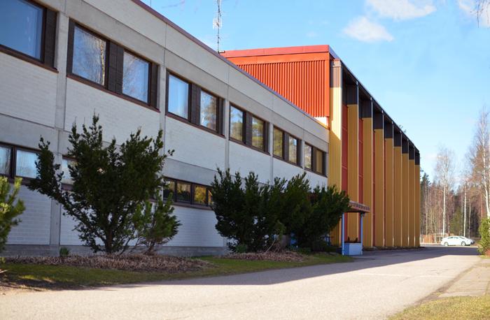 Urheiluopisto Kisakeskus, päärakennus