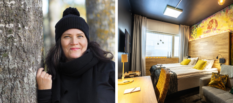 Marita Saxberg, Time Hostel
