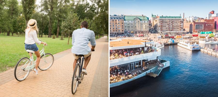 Pyöräilijät_Tampere