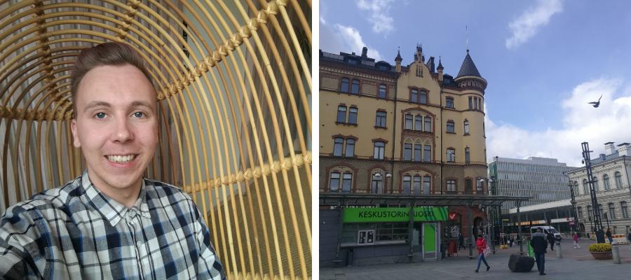 Hostellijärjestön Hostellireissaaja Oscar Dream Hostelissa Tampereella